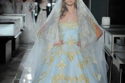 22 abiti da sposa colorati: rompi le regole!