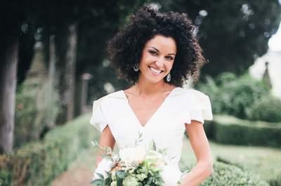 Los peinados más naturales para lucir el día de tu boda