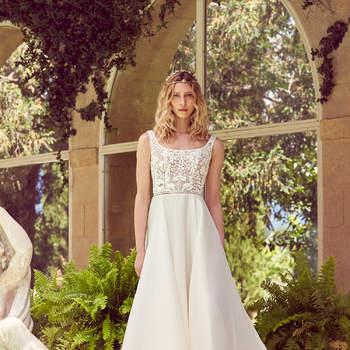 Robe de mariée collection Majesté modèle Ninon - Crédit photo: Margaux Tardits