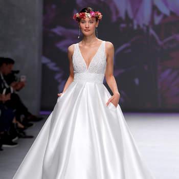 Créditos: Aire Barcelona. Credits   Barcelona Bridal Fashion Week