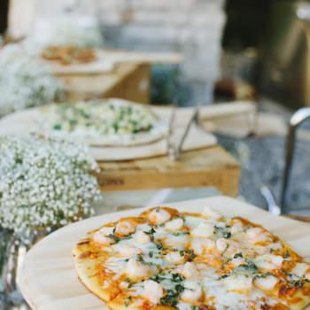 Corner de pizzas. Credits: Marisa Holmes Photography