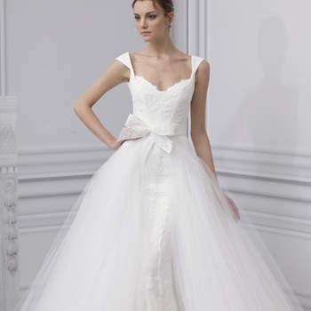 Une robe de princesse ultra romantique. Monique Lhuillier 2013.