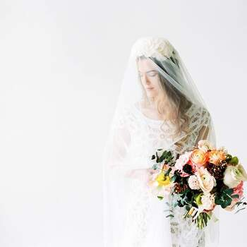 Brautstrauß: Petra Müller Blumen