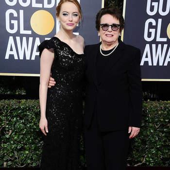 Emma Stone and Billie Jean King. Credits: Cordon Press