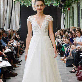Créditos: Amsale   New York Bridal Week.