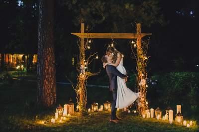 Загадка природы: эко-свадьба Кирилла и Елизаветы