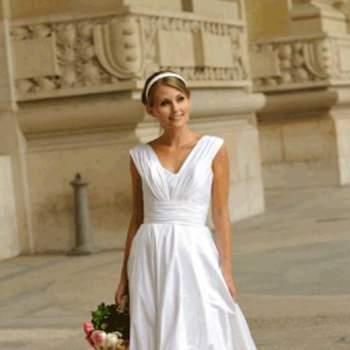 Robe de mariée Audrey, vue de face - Crédit photo: Catherine Varnier