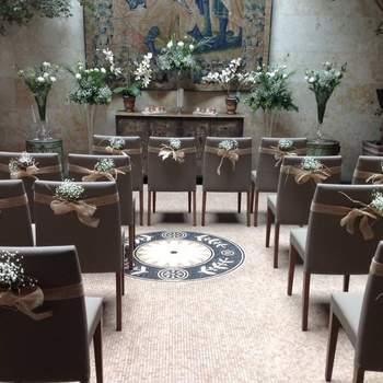 Un antiguo palacio del s.XV en Salamanca, donde encontrarás el espacio ideal para tu boda acompañado de la mejor gastronomía de la zona.