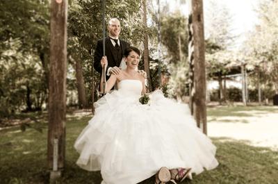 Real Wedding: Eine Gartenhochzeit in Metzingen