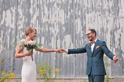 Antonia & Robert feierten eine außergewöhnliche Vintage Hochzeit in Berlin