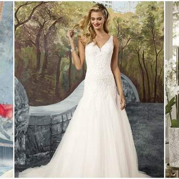 European Bridal Week: discover next season's designs
