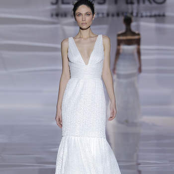Jesús Peiró. Credits Barcelona Bridal Fashion Week