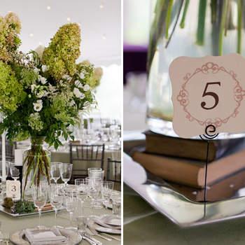 Flores verdes, ideal para bodas campestres y al aire libre.