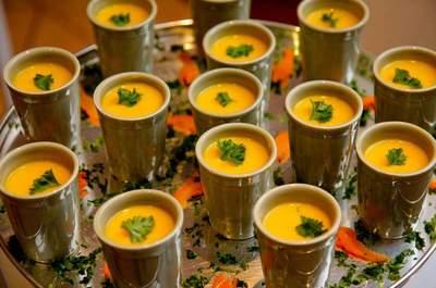 Buffet de casamento perfeito para os dias mais frios: uma delícia!