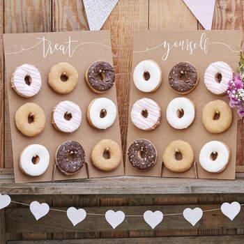 Panel de Donuts para el Candy Bar - The Wedding Shop