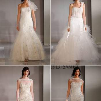 Com saias volumosas e corpetes trabalhados, estes vestidos de Ines di Santo são verdadeiras inspirações para quem gosta do estilo extravagante!