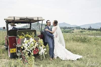 Un vestido que se ajuste al ambiente - Foto: D Zuleta Wedding Photography
