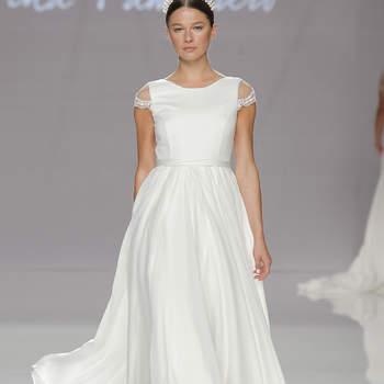Cristina Tamborero. Credits: Barcelona Bridal Fashion Wee