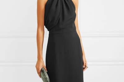 Vestidos de fiesta de color negro, ¡una apuesta segura y de lo más chic!