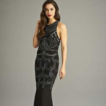Barbara Sequin Maxi Dress. Credits: Frock & Frill
