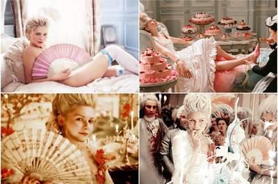 Luxo consumado: decoração de casamento inspirada no filme Maria Antonieta