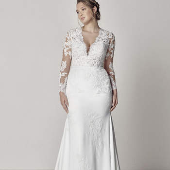 Modelo vestido Eva da Pronovias