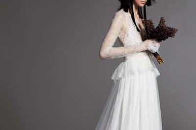 Vestidos de novia Vera Wang 2018: una nueva visión de la moda nupcial