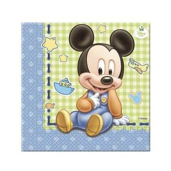 Serviettes Baby Mickey 20 Pièces - The Wedding Shop !