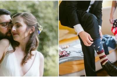 Entre Brooklyn et Paris : le mariage franco-américain de Céline et Stephen