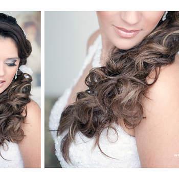 Toda noiva busca inspiração em outras noivas para compor seu próprio look! Inspire-se nesta seleção de 8 lindas noivas morenas!