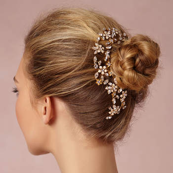Photo: Secret Garden Headpiece via BHLDN