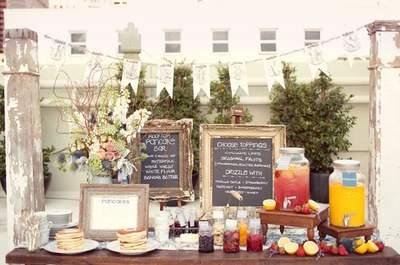 Un brunch para el banquete de boda: Te contamos cómo armar el más original