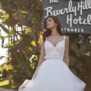 Vestido de noiva modelo Dandridge da coleção Pronovias 2021 Cruise Collection