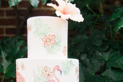 As melhores tendências de bolos de casamento: sobremesas únicas para o seu grande dia!