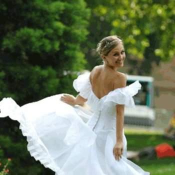 Robe de mariée Giselle, vue de dos - Crédit photo: Catherine Varnier