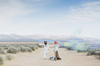 Amor en Las Vegas: la boda al estilo Rock 'n' Roll de Ainsley y Sebastien