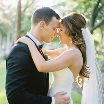 Cabelo de noiva semi preso com véu   Credits: Ben Q Photography
