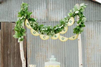 Los mejores rincones de limonada para tu boda. ¡Refresca a tus invitados!
