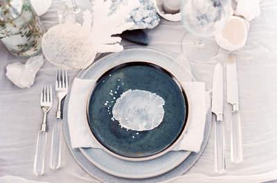 Elige una hermosa vajilla para tu boda: ¡Marcará la diferencia!