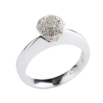 Anel de noivado de Romantis. Disponível em: CF Jóias