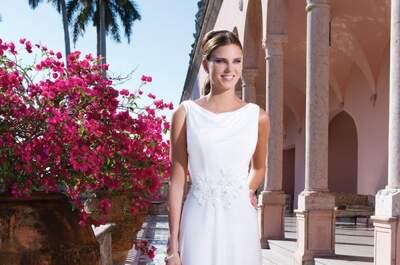 De bruidscollectie 2015 van Sweetheart: elegante en romantische bruidsjurken voor uw bruiloft!