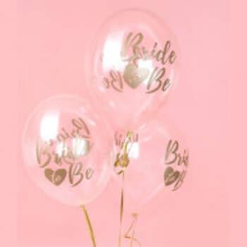 Ballon Bride To Be Or 6 Pièces - The Wedding Shop !