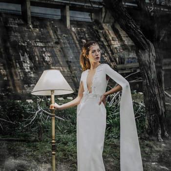 Vestidos de novia para mujeres con busto pequeño: ¡Escoge el que mejor se adapte a ti!