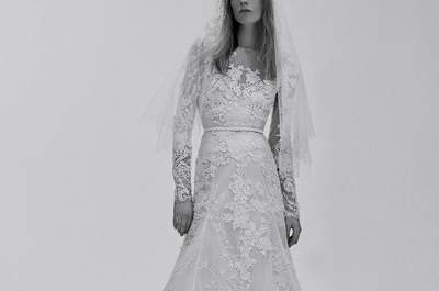 Vestidos de novia con manga larga 2017: Caerás rendida ante estos diseños