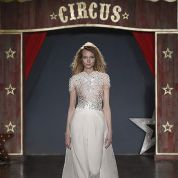 Magic & Clemence. Credits: Jenny Packham