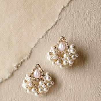 Babette Earrings. Credits: Bhldn