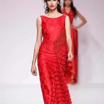 Vestidos rojos para invitadas a una boda