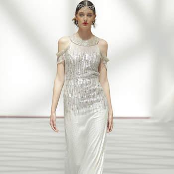 Carola Forconi. Credits: Madrid Bridal Week