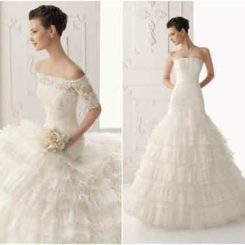 Uma das marcas 'low cost' do grupo Rosa Clará é a Alma Novia. Disponível em muitas lojas do nosso país, a colecção Alma Novia 2013 assemelha-se muito à colecção-mãe e sugere vestidos delicados, muito femininos... e acessíveis.