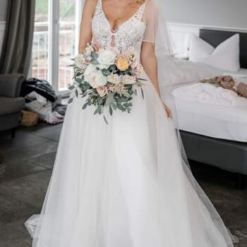 Second Hand Brautkleid, erhältlich im Pop-Up Store. ID: 300292